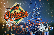 Baltimore Baseball Prints - Baltimore Orioles Print by Joe Hamilton