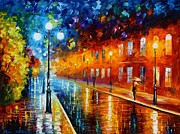 Leonid Afremov - Blue Lights