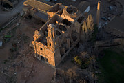Aragon Prints - Bombed Town Of Belchite, Aragón Print by Steve Brockett