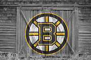 Skating Framed Prints - Boston Bruins Framed Print by Joe Hamilton