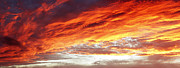 Sky Fire Prints - Bright sky Print by Les Cunliffe