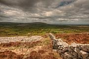 County Clare Framed Prints - Burren View Framed Print by John Quinn