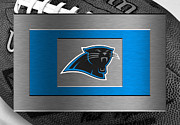 Carolina Posters - Carolina Panthers Poster by Joe Hamilton