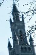 Church Tower Prints - Castle Print by Joana Kruse
