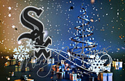 Glove Prints - Chicago White Sox Print by Joe Hamilton