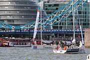Clippers Prints - Clipper Round the World Yacht Race 2013 Print by Ash Sharesomephotos