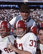 Coach Bear Bryant Print by Retro Images Archive