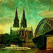 Photo Images Mixed Media - Cologne by Gabi Siebenhuehner