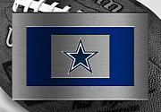 Offense Framed Prints - Dallas Cowboys Framed Print by Joe Hamilton