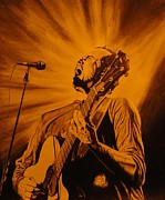 The Dave Matthews Band Prints - Dave Matthews Print by Charles Rogers