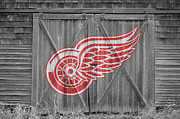 Skate Photos - Detroit Red Wings by Joe Hamilton