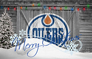 Skate Photos - Edmonton Oilers by Joe Hamilton