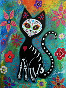 Gato Paintings - El Gato by Pristine Cartera Turkus
