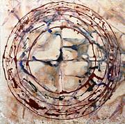 Eternal Circle Print by Baljit Chadha