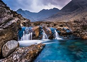 Brittle Framed Prints - Fairy Pools Framed Print by Maciej Markiewicz