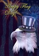 Jeanette K - Flag Day Eagle