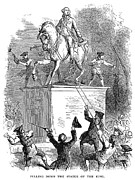 George IIi Statue, 1776 Print by Granger