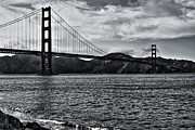 Golden Gate Framed Prints - Golden Gate Bridge Framed Print by Aidan Moran