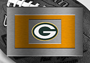 Green Bay Posters - Green Bay Packers Poster by Joe Hamilton