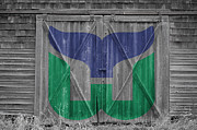 Rink Prints - Hartford Whalers Print by Joe Hamilton
