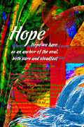 Trial Digital Art Prints - Hope Print by Chuck Mountain