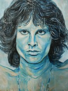 Jim Morrison Prints - Jim Morrison Print by Christian Carrette