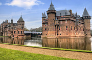Holland Framed Prints - Kasteel de Haar Framed Print by Joana Kruse