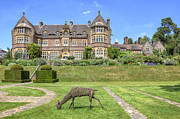 Mansion Posters - Knightshayes Court Poster by Joana Kruse