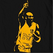 Nba Art - Kobe Bryant Poster by Sanely Great