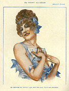 Featured Metal Prints - La Vie Parisienne 1916 1910s France Metal Print by The Advertising Archives