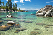 View Framed Prints Posters - Lake Tahoe Poster by Mariusz Blach