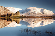 Winter Prints Photos - Loch Awe by Grant Glendinning