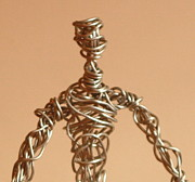 Featured Sculptures - Man On the Move by Mel Drucker