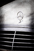 Mercedes Benz Photos - Mercedes-Benz Hood Ornament by Jill Reger