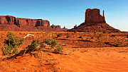 Panoramic Prints - Monument Valley  Print by Jane Rix