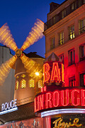 Moulin Rouge Print by Brian Jannsen