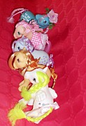 80s Prints - My Little ponies the girls  Print by Donatella Muggianu