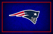 Football Helmets Posters - New England Patriots Poster by Joe Hamilton