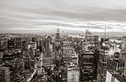 New York City Skyline Art - New York City by Vivienne Gucwa