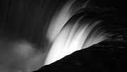 Time Off Posters - Niagara Falls New York in Black and White Poster by ELITE IMAGE photography By Chad McDermott