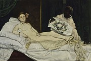 Manet - Olympia by Edouard Manet