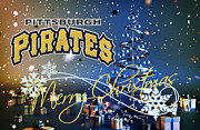 Pittsburgh Pirates Posters - Pittsburgh Pirates Poster by Joe Hamilton