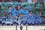 Allen Beatty Posters - 5 Pointz Graffiti Art image 6 Poster by Allen Beatty