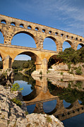 Languedoc Photo Prints - Pont du Gard Print by Brian Jannsen