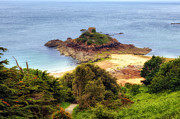 Tomb Photos - Portelet Bay - Jersey by Joana Kruse
