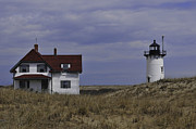 Race Point Photos - Race Point Light by Catherine Reusch  Daley