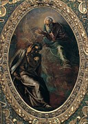 White Beard Metal Prints - Robusti Jacopo Known As Tintoretto, The Metal Print by Everett