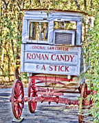 Original Photography Posters - Roman Candy Poster by Scott Pellegrin
