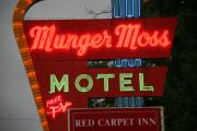 Lodging - Route 66 - Munger Moss Motel by Frank Romeo
