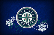 Seattle Greeting Cards Prints - Seattle Mariners Print by Joe Hamilton